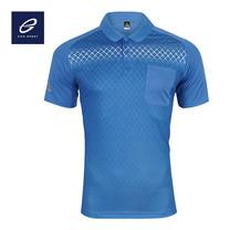 EGO SPORT EG6159 เสื้อโปโลพิมพ์ลายแขนสั้นชาย สีฟ้าแคริบเบียน