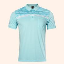 EGO SPORT EG6171 เสื้อโปโลชายแขนสั้น สีฟ้าแคริบเบียน