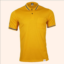 EGO SPORT EG6163 เสื้อโปโลแขนสั้นชาย สีเหลืองทอง