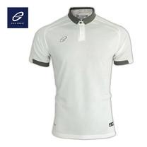 EGO PRIME PM212: เสื้อโปโลแขนสั้น ไหล่สโลป สีขาว