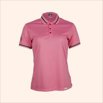 EGO SPORT EG6164 เสื้อโปโลแขนสั้นหญิง สีชมพู