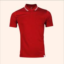 EGO SPORT EG6167 เสื้อโปโลชายเบสิคแขนสั้น สีแดงเข้ม 99.95% Anti-Bacteria