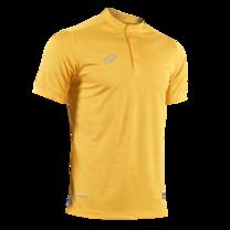 EGO PRIME PM214 : เสื้อโปโลแขนสั้น คอตั้ง สีเหลืองทอง