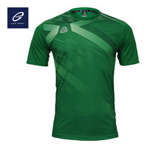 EGO SPORT EG5116 เสื้อฟุตบอลคอกลม สีเขียวไมโล