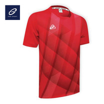 EGO SPORT EG5103 เสื้อฟุตบอลคอกลม สีแดง