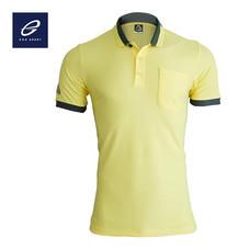 EGO SPORT EG6147 เสื้อโปโลแขนสั้นชาย สีเหลืองอ่อน
