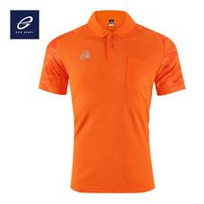 EGO SPORT EG6157 เสื้อโปโลพิมพ์ลายแขนสั้นชาย สีส้มแสด