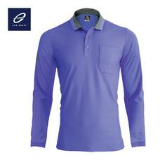 EGO SPORT EG6149 เสื้อโปโลแขนยาวชาย สีม่วง