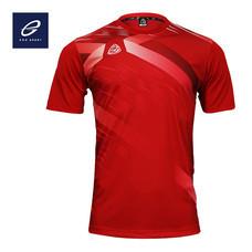 EGO SPORT EG5116 KIDS เสื้อฟุตบอลคอกลม สีแดง