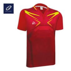 EGO SPORT EG5092 เสื้อกีฬาฟุตบอลคอวี สีแดง