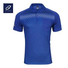 EGO SPORT EG6159 เสื้อโปโลพิมพ์ลายแขนสั้นชาย สีน้ำเงิน
