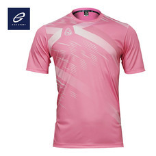 EGO SPORT EG5116 KIDS เสื้อฟุตบอลคอกลม สีชมพู