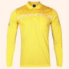 EGO SPORT EG6173 เสื้อโปโลชายแขนยาว สีเหลืองจัน