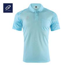 EGO SPORT EG6157 เสื้อโปโลพิมพ์ลายแขนสั้นชาย สีฟ้าอ่อน