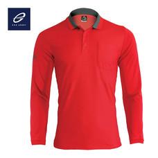 EGO SPORT EG6149 เสื้อโปโลแขนยาวชาย สีแดง