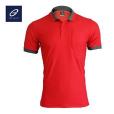 EGO SPORT EG6147 เสื้อโปโลแขนสั้นชาย สีแดง