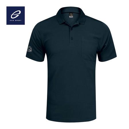 EGO SPORT EG6135 เสื้อโปโลเบสิกชาย สีกรม