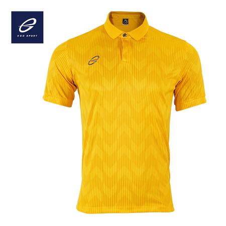 EGO SPORT EG6155 เสื้อโปโลแขนสั้น สีเหลืองทอง