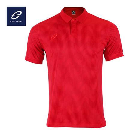 EGO SPORT EG6155 เสื้อโปโลแขนสั้น สีแดงแทงโก้