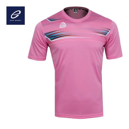 EGO SPORT EG5112 เสื้อฟุตบอลคอกลม สีชมพู