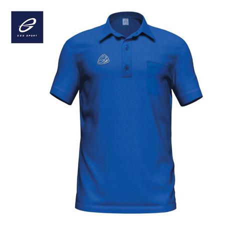 EGO SPORT เสื้อโปโลชาย รุ่น EG6119 สีน้ำเงิน