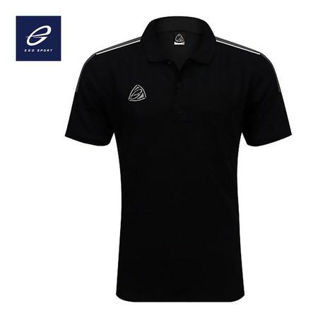 EGO SPORT EG6143 เสื้อโปโลชาย สีดำ