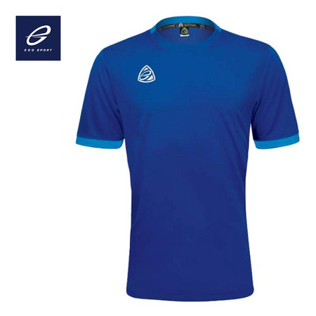 EGO SPORT EG1013 KIDS เสื้อฟุตบอลคอกลม (เด็ก) สีน้ำเงิน