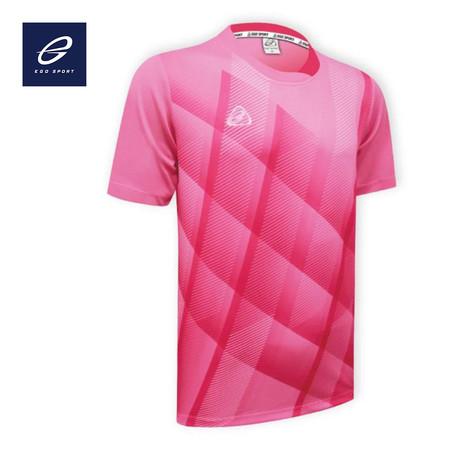 EGO SPORT EG5103 เสื้อฟุตบอลคอกลม สีชมพู
