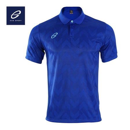 EGO SPORT EG6155 เสื้อโปโลแขนสั้น สีน้ำเงิน