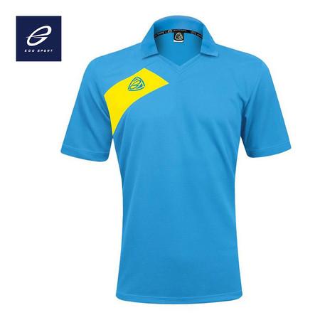 EGO SPORT EG1011 KIDS เสื้อฟุตบอลคอวีปก (เด็ก) สีฟ้า