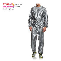 Thai Sun Sport ชุดซาวน่า Sauna Suit Silver ชุดออกกำลังกาย รีดเหงื่อ