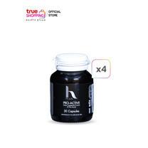 H Plus Pro Active Dietary Supplement ผลิตภัณฑ์เสริมอาหารบำรุงเส้นผม 4 กระปุก