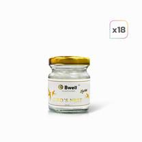 Bwell เครื่องดื่มรังนกแท้เกรดพรีเมี่ยม สูตรไซลิทอล 45 ml. เซต 18 ขวด