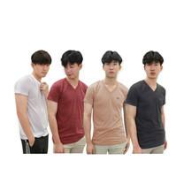 ARROW LITE T-Shirt เสื้อยืดคอวี 4 ตัว