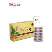 Yowang Curcumin Mix Oil Complex ผลิตภัณฑ์เสริมอาหารขมิ้นชัน 4 กล่อง แถมฟรี 1 ซอง