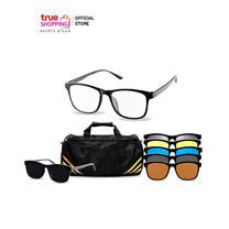 COSMO แว่นกันแดด รุ่นคลิปออน แถมฟรี กระเป๋าทรงสปอร์ต