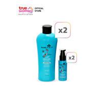 Hairtricin Hair Complete แชมพู 220 มล. 2 ขวด + เซรั่มบำรุงเส้นผม 50 มล. 2 ขวด