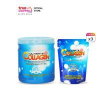 Ultimate Collagen ผลิตภัณฑ์เสริมอาหาร 250 กรัม 1 กระปุกแถมฟรี 50 กรัม 3 ซอง