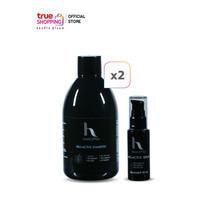 Hair2Pro Pro-Active Shampoo แชมพูลดผมร่วง 2 ชิ้น + Hair2Pro Pro-Active Serum เซรั่มลดผมร่วง 1 ชิ้น