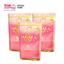 Trueshopping Takara Collagen ทาคาระ คอลลาเจน 3 ซอง (50,000 มก./ซอง)