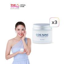 COS NINE Tone Up Blanc Cream ครีมบำรุงผิวหน้า 70g. เซต 3 กระปุก