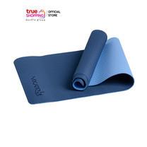 YOGATIQUE TPE Yoga เสื่อโยคะ ขนาด 6 มม. จำนวน 1 ชิ้น