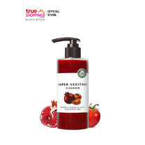 Wonder Bath Super Vegitoks Cleanser (RED) คลีนเซอร์ทำความสะอาดผิวหน้า สำหรับสีผิวไม่สม่ำเสมอ ขนาด 300 ml. 1 ชิ้น