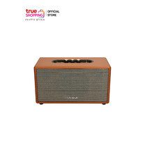 AIWA Bluetooth Speaker ลำโพงบลูทูธพกพา รุ่น Diviner Ace RS-X60 สีน้ำตาล พร้อมรีโมทคอนโทรล BASS++ 1 ชิ้น