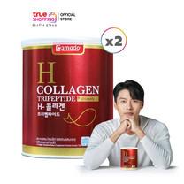 H Collagen ไตรเปปไทด์ 2 กระปุก