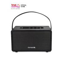AIWA Bluetooth Speaker ลำโพงบลูทูธพกพา รุ่น MI-X150 Retro Plus BASS++ สีดำ 1 ชิ้น