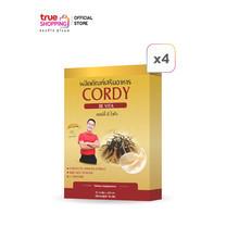 Cordy Be Vita คอร์ดี้ บี ไวต้า ถั่งเช่าผสมรังนก 30 แคปซูล เซต 4 กล่อง