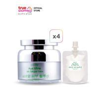 Barcony Hya Silver Silk Collagen Cream ครีมหน้าฟู 4 กระปุก แถมฟรี แบบพกพา 1 ซอง