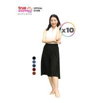 Araya อารยา กางเกงกระโปรง คละสี 10 ตัว