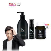 Hair2Pro Pro-Active เซตผลิตภัณฑ์บำรุงเส้นผม 4 ชิ้น ดูแลครบเซต แชมพู เซรั่ม ผลิตภัณฑ์เสริมอาหาร